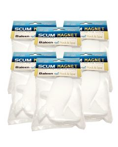 Scum Magnet for extending filter life of pool and spa filter cartridge